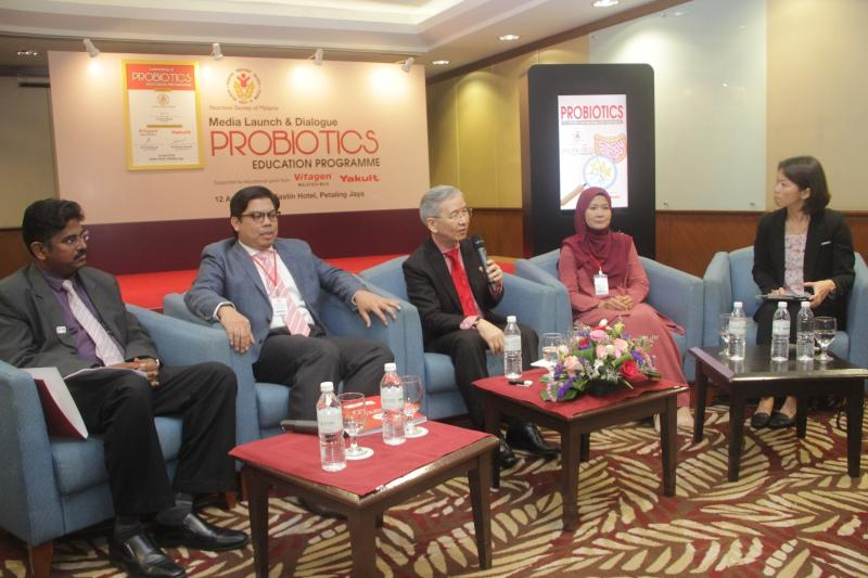 Media dialogue with the Probiotics Education Programme Expert Group.