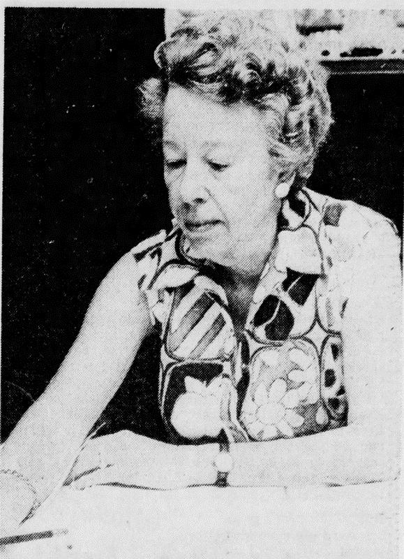 Photograph of the late Frances Cooke Macgregor. Macgregor wrote many books on people of different cultures and races, and afterwards pioneered work in the field of research in facial deformities and plastic surgery. Photo credit: Hingham Public Library Local History & Special Collections