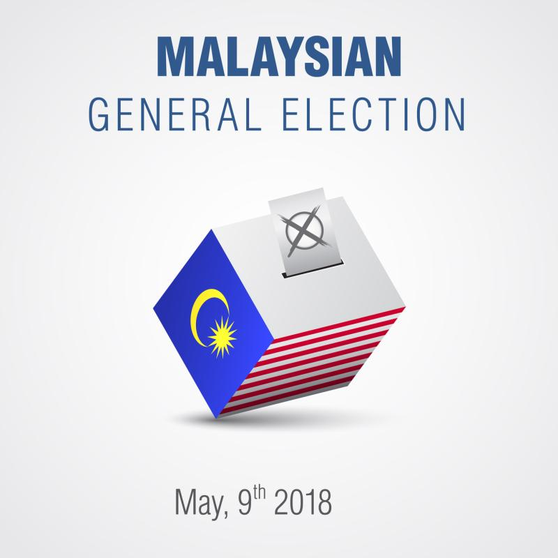 Voting day for the 14th General Election (GE14) will be held on 9 May 2018.