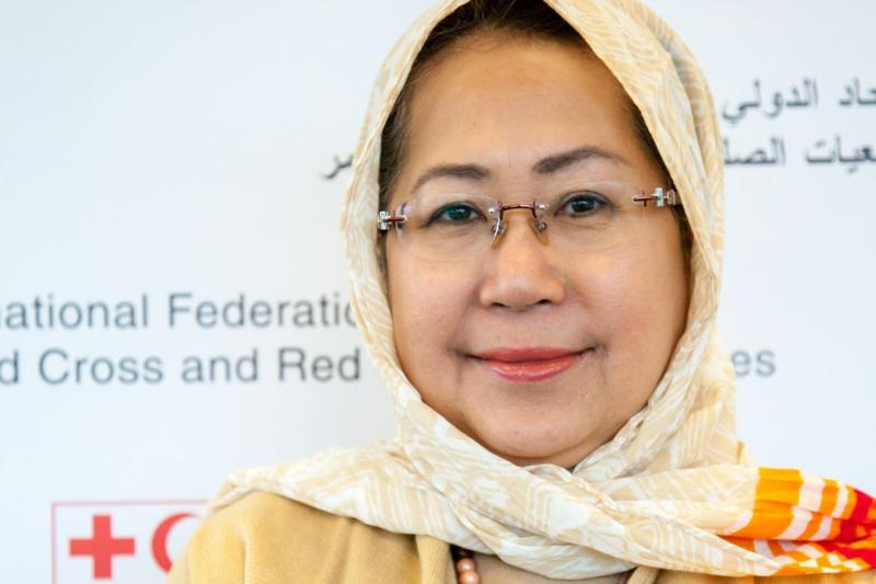 Tan Sri Dr Jemilah Mahmood is the recipient of many national and international awards for her cause, the most recent being the Merdeka Award 2015 – for outstanding contribution to the development of humanitarian and international emergency relief. Photo credit: Thomson Reuters Foundation