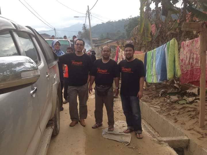 The network has helped organize teams for disaster relief work, including the 2014 Kelantan floods.