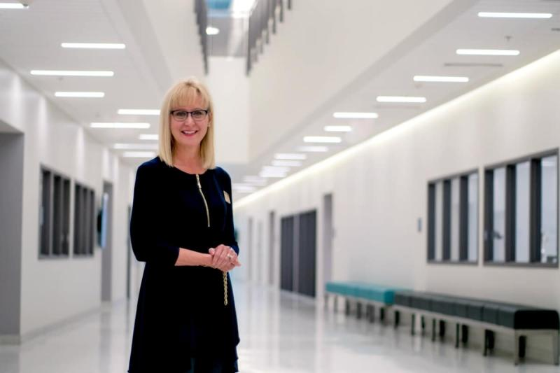 Kathy Lustyk is now dean of the College of Arts and Sciences on Embry-Riddle Aeronautical University's Prescott Arizona campus. She holds a PhD degree in physiological psychology with a minor in endocrinology. Photo credit: The Embry-Riddle Newsroom